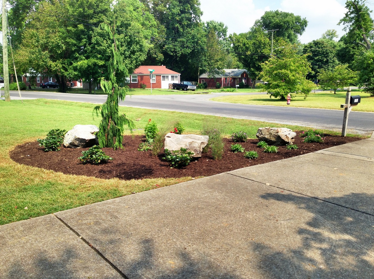 Residential landscaping and design