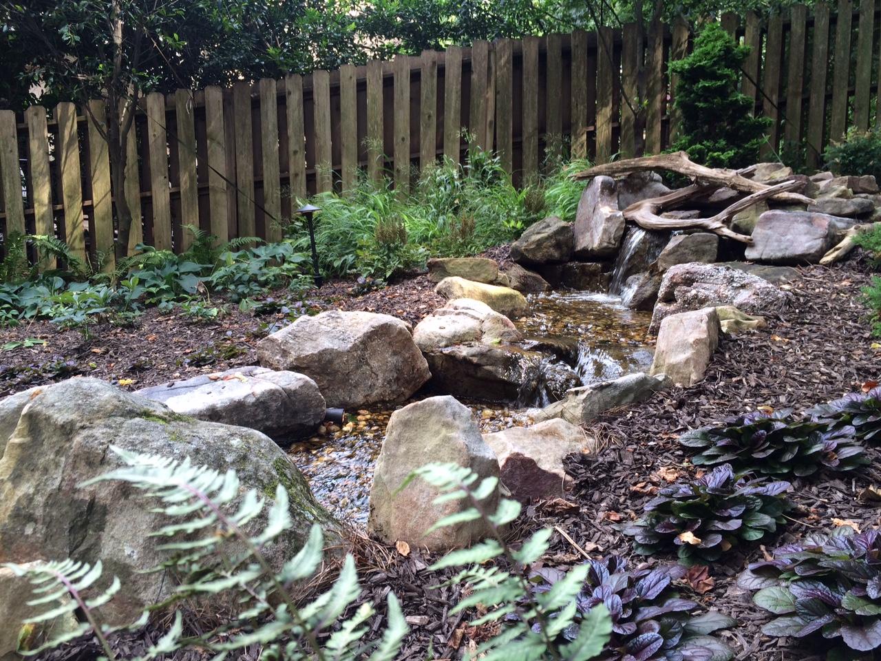 backyard fountainscape nashville