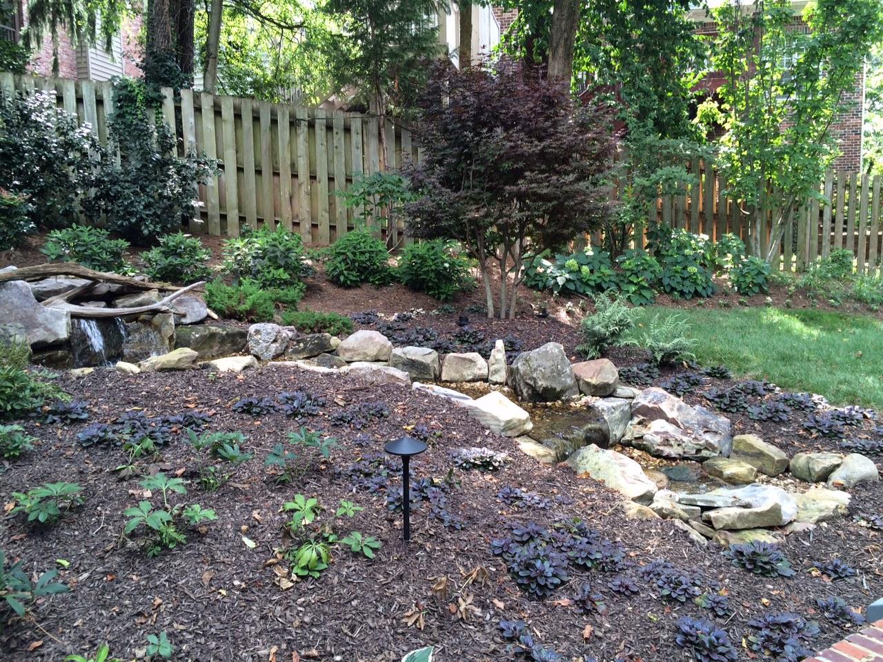backyard fountainscape