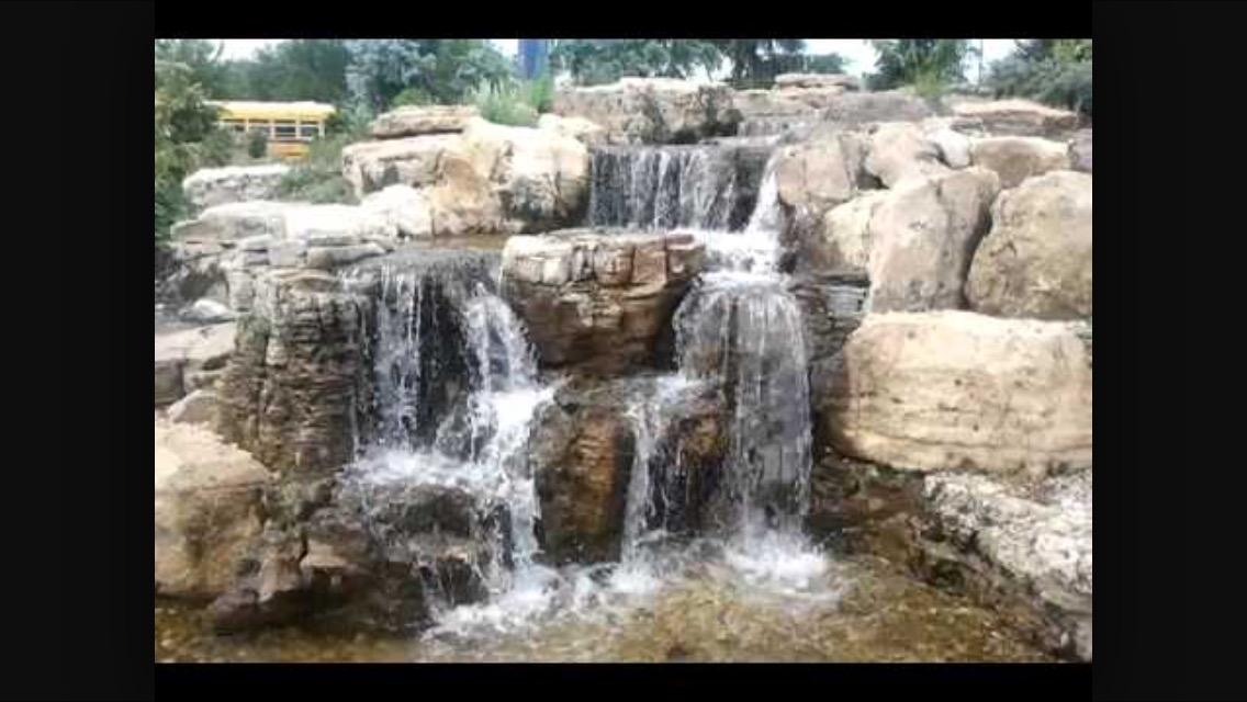 fountainscape waterfall