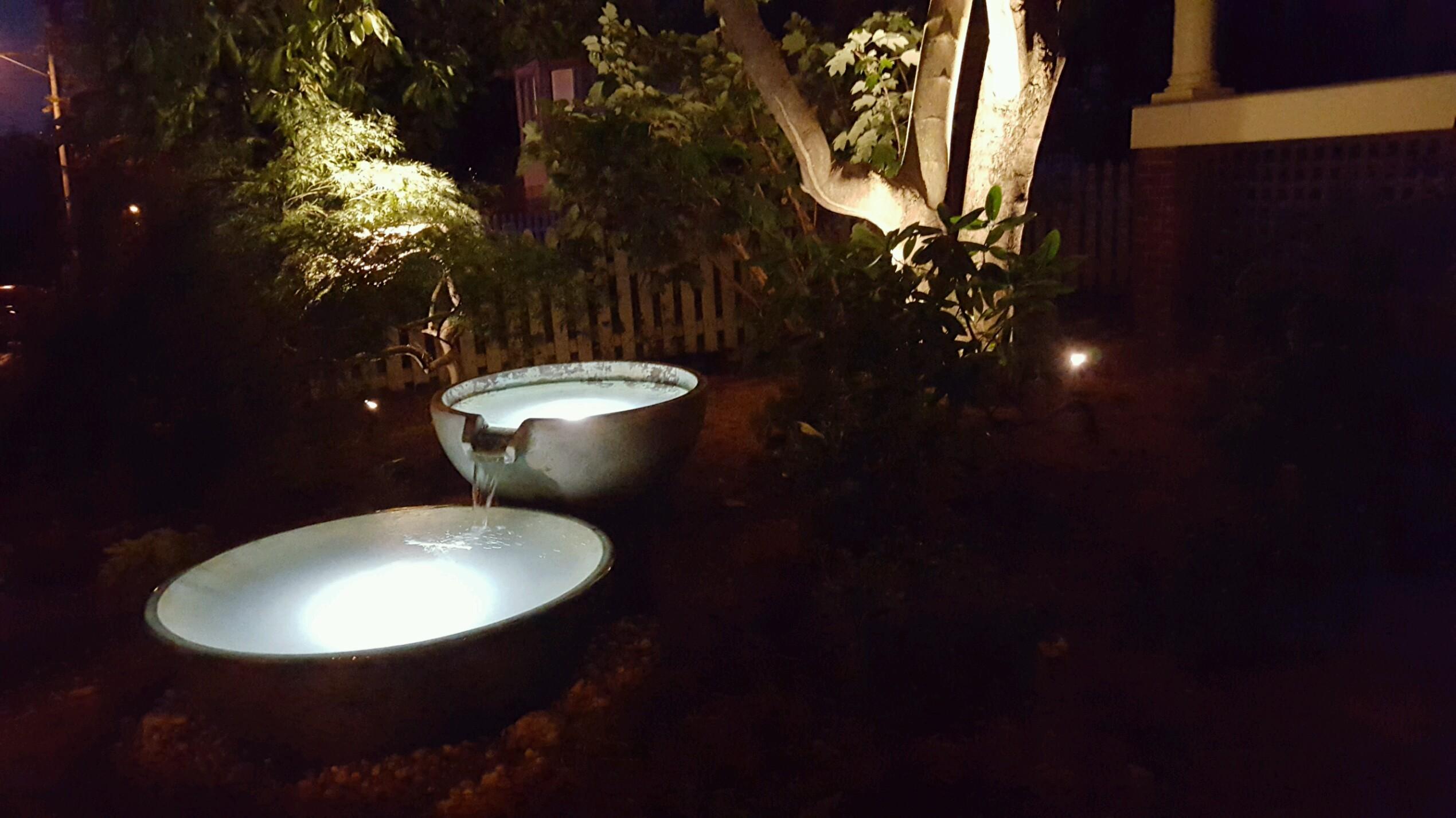 Nashville Fountain Scape