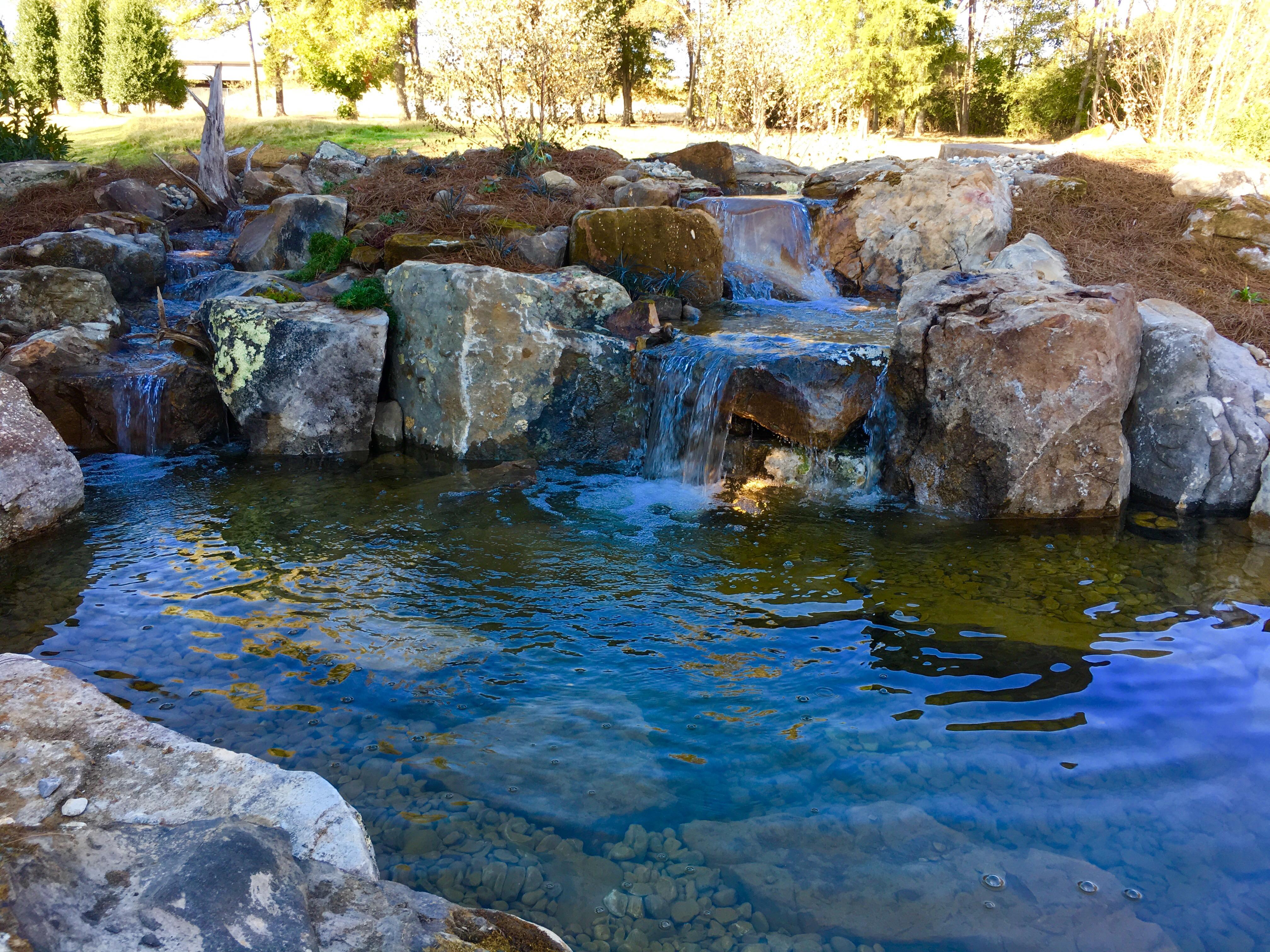 Ponds with Rocks