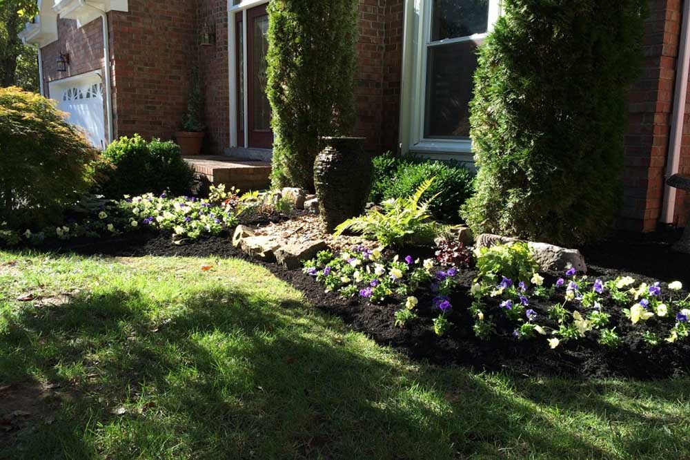 Nashville landscaping services jvi secret gardens mulching gallery workwithnaturefo
