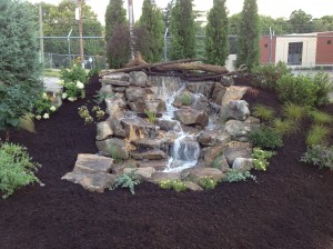 Donelson waterfall installation