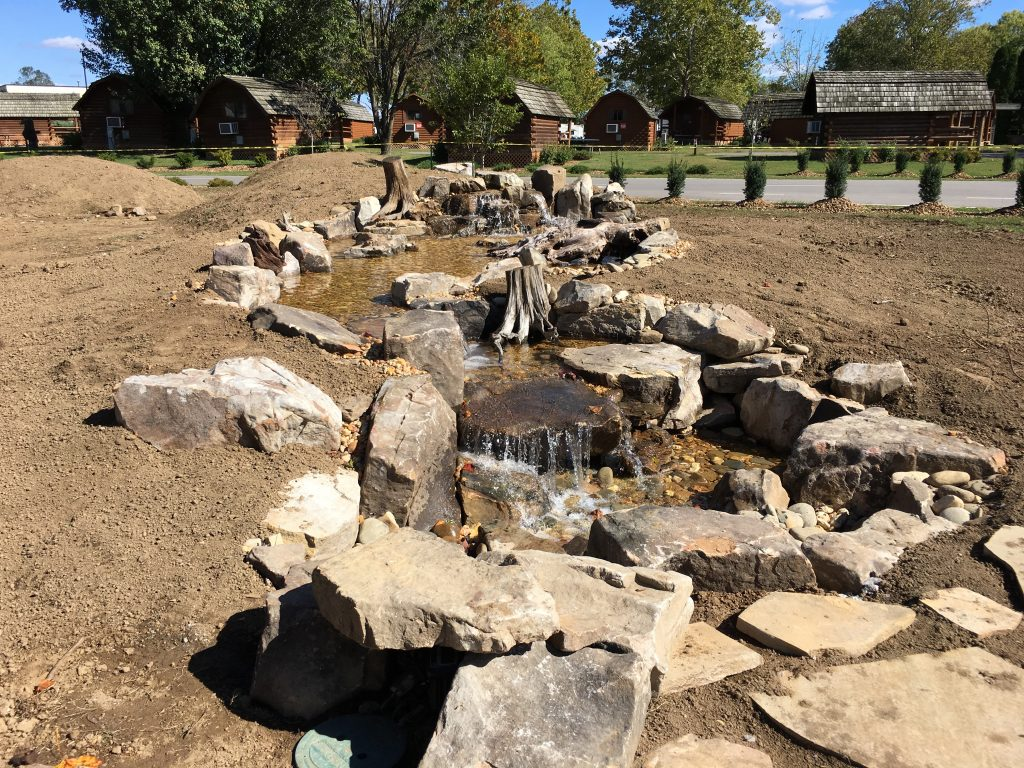Pondless Water Feature KOA